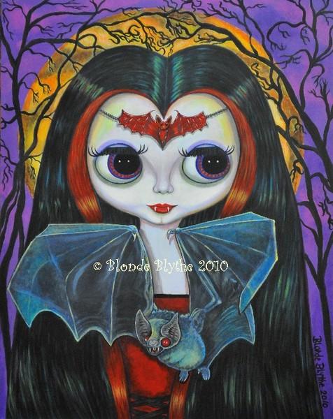 Vampire Girl Blythe Doll