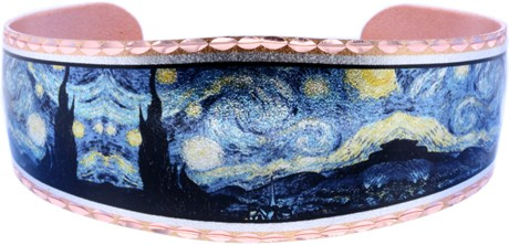 Van Gogh Starry Night Bracelets by Copper Reflections