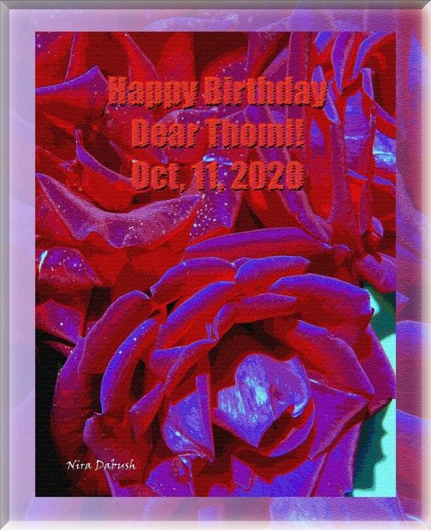 Happy Birthday Thom!
