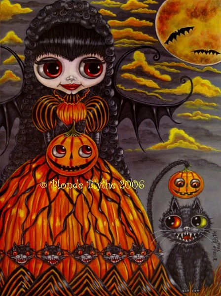 Halloween Kitty Cat Fairy