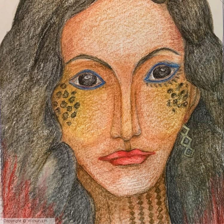 Portrait practice: A sketch