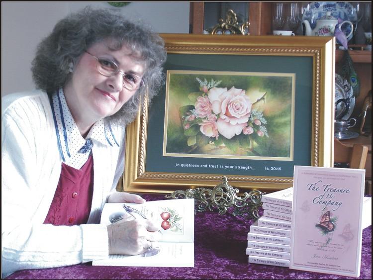 Jan Book Signing & Julia's Rose