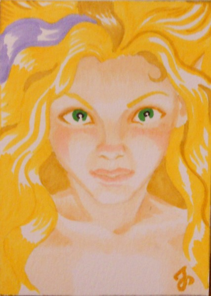 Sunshine Fairy original ACEO