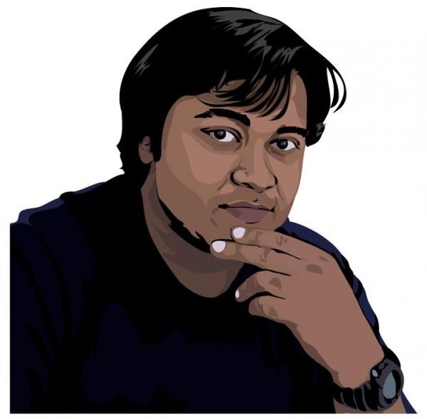 Adobe Illustrator - Self Portrait