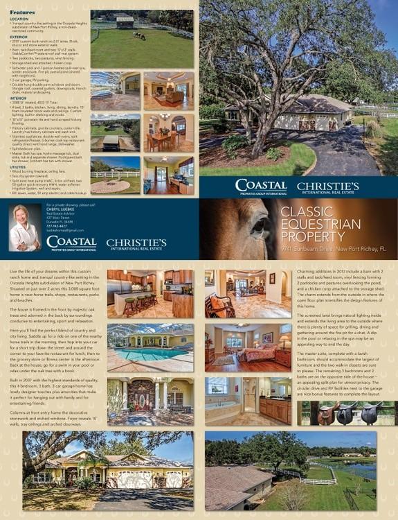 Equestrian Property brochure