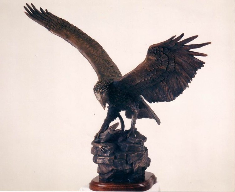 MARTIAL EAGLE ON IT
