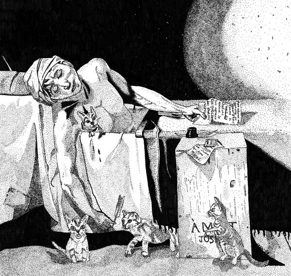 The Alternate Death of Marat