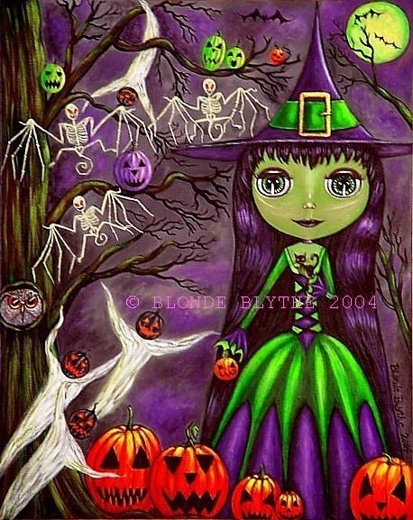 Halloween Blythe: One Eerie Night!
