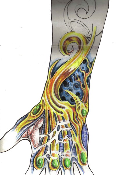 how would you design your arm?