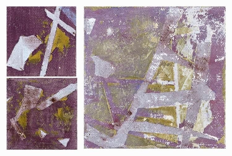 Wonderful Moment-104 10cmx15.3cm Oil on canvas 2018