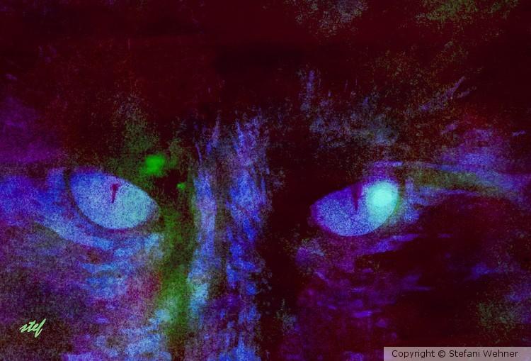 demoniac eyes