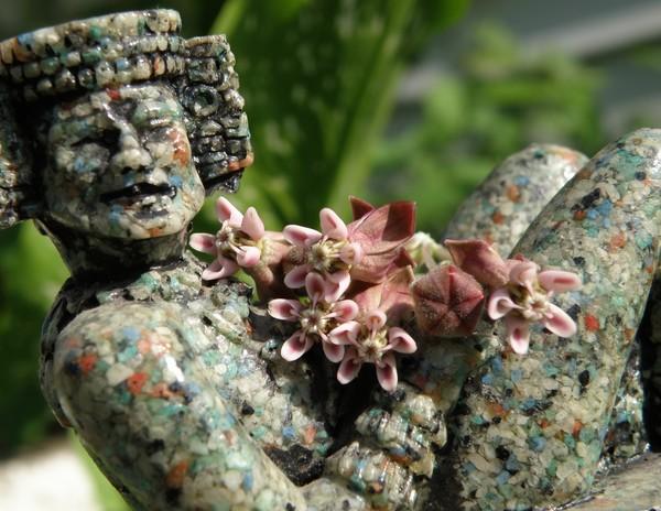 I Come Bearing Flowers - Chac Mool Series #3