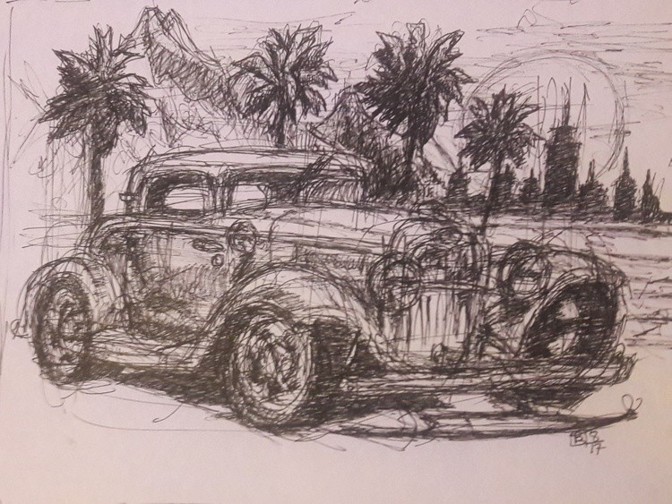 32 ford coupe ink - Copy (2)