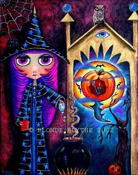 Halloween Blythe Witch & The Magic Window