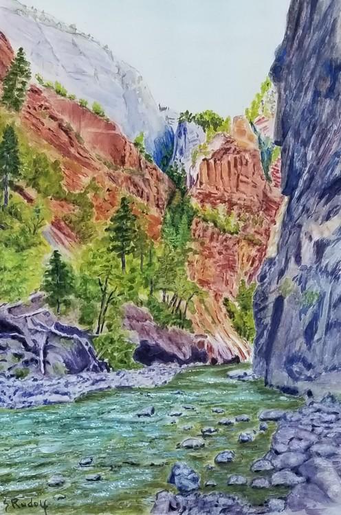 Zion's Virgin River UT