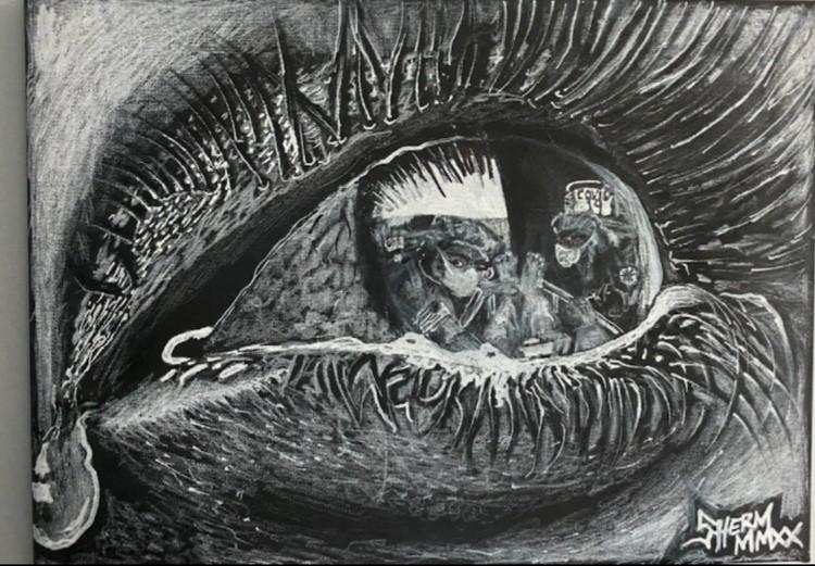 Covid-19 eye MMXX
