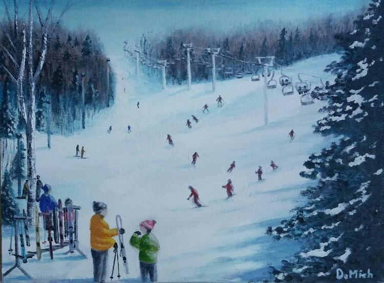 9 X 12 board -ski Mt Bruno