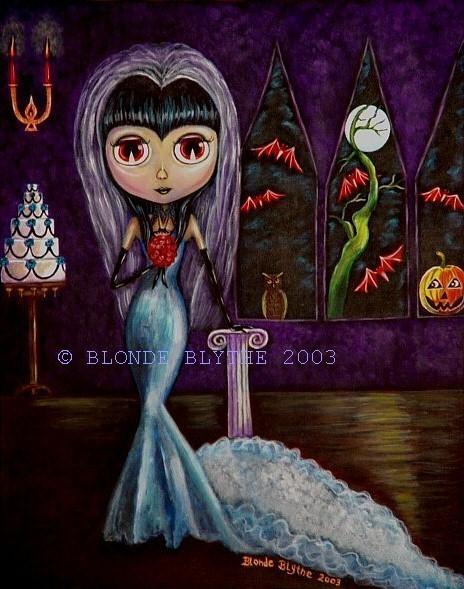 Gothic Blythe Halloween Bride