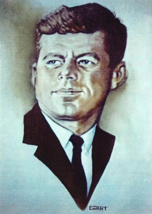 Kennedy Portrait Watercolor
