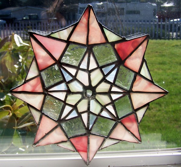 8 Pointed Star Suncatcher