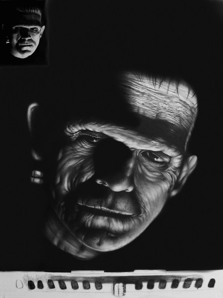 The Monster 30x40 Graphite