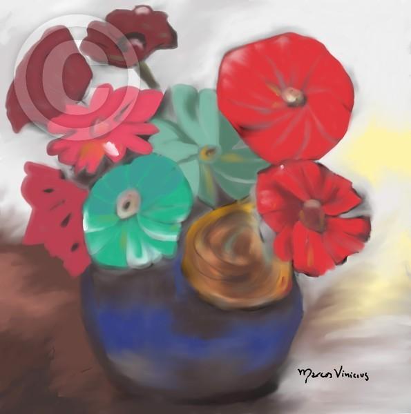 vaso flor
