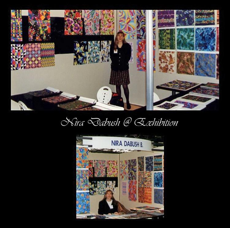 Nira Dabush @ Exhibition - 1997