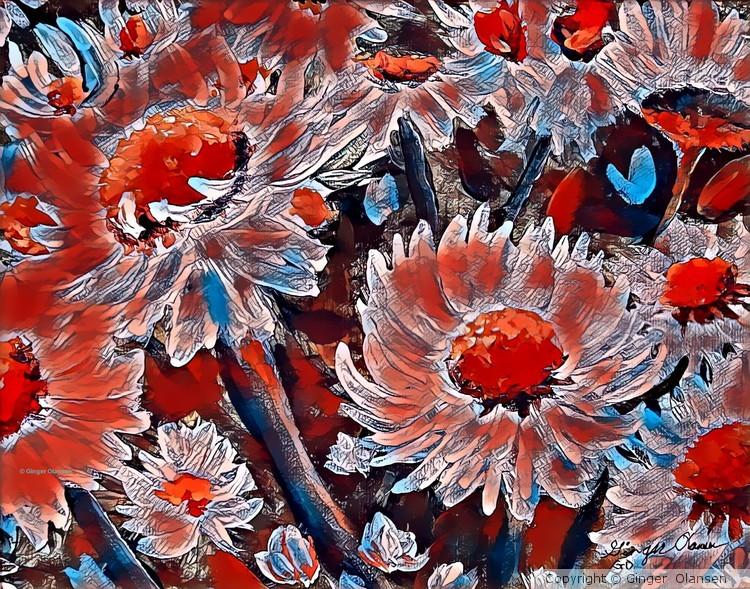 Digital Flower 4