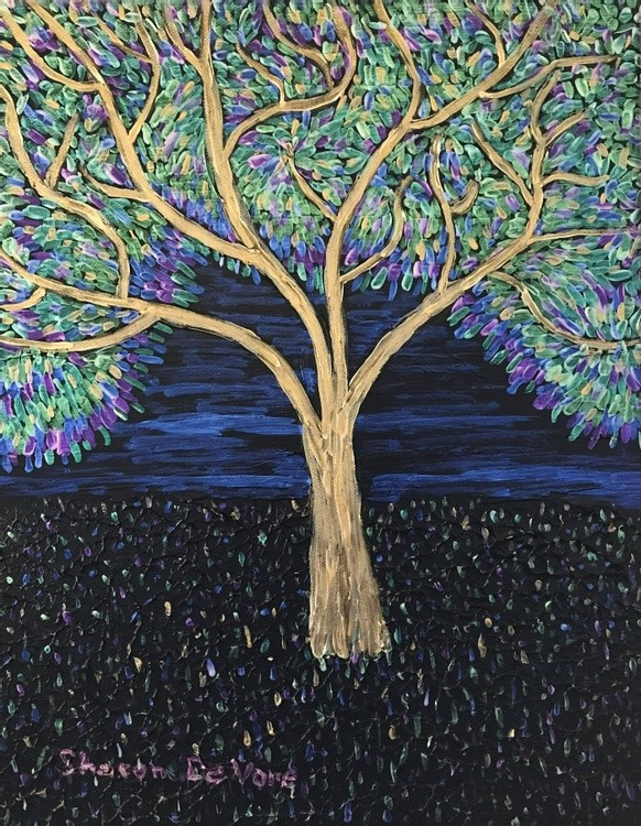 Tree Abstract 2