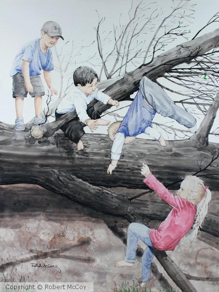 Tree's Down