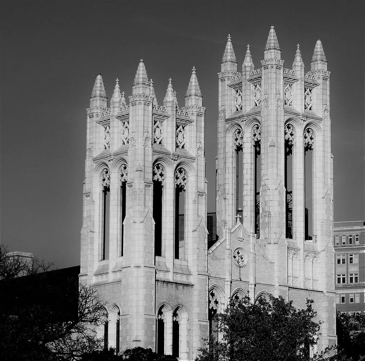 First United Methodist Church, Ft. Worth (b&w)