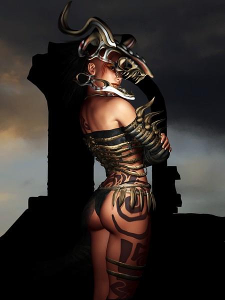 A Warrior Stands Alone