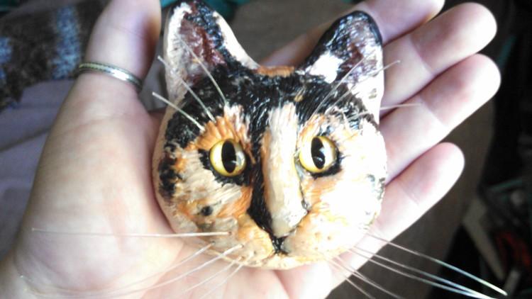 Tortishell cat sculpt