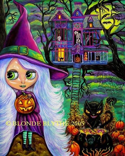 Halloween Blythe & the Haunted Tree House