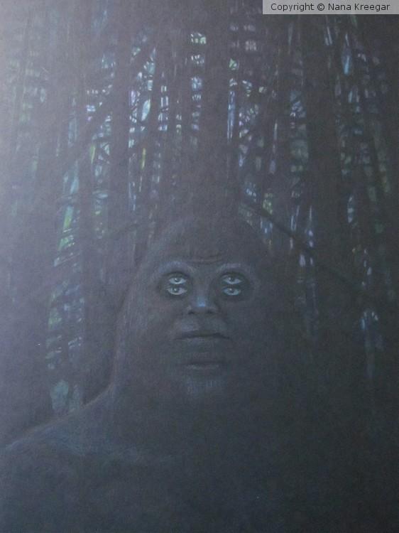 Phychic Sasquatch