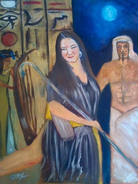Goddess AND pHAROAH