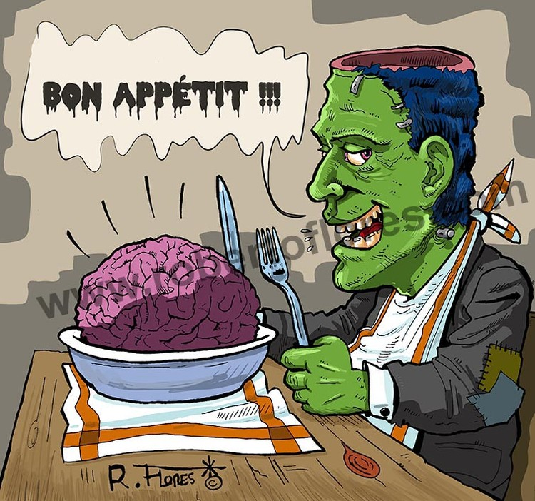 Frankenstein´s meal!