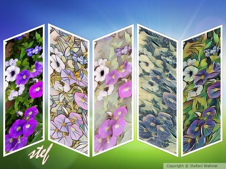 floral x 5