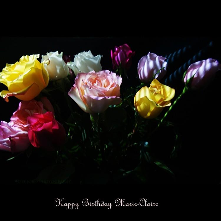 Happy Birthday Marie-Claire!