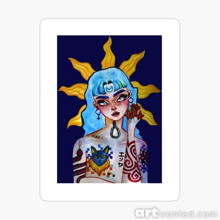 work-41207571-default-u-sticker