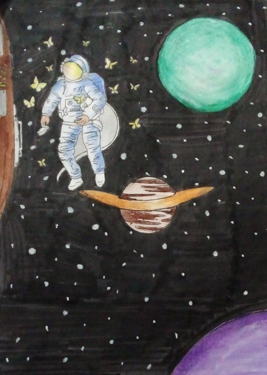 space cropped