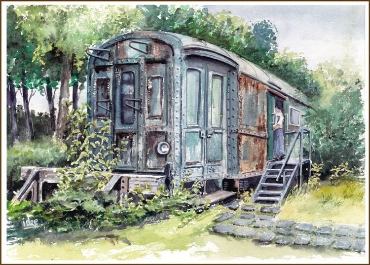 An original garden shed