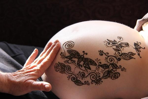 Sarah's Maternity Henna, Ogden, Utah
