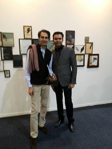 India Art Fair 2016  Ravinder Dutt Amin Jaffer