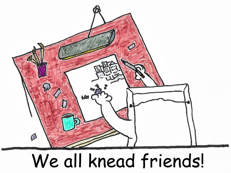 Knead friends