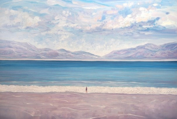 Escape to the Blue Sea oil seascape painting
