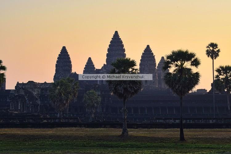 Ankgor Wat at Dawn