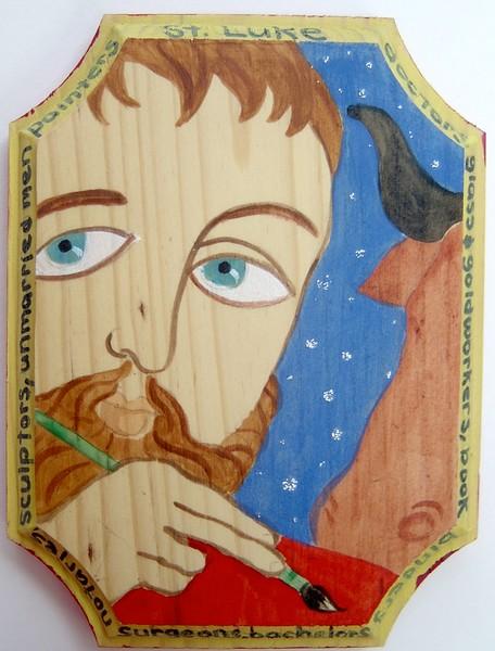 St Luke-Patron saint of artists, bachelors...