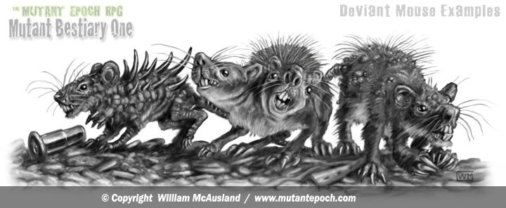 Mutated Mice