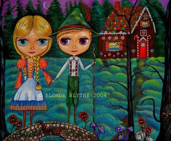 Hansel & Gretel Blythe Dolls